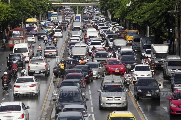 Average morning rush-hour