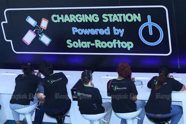 Solar power inching ahead in Thailand