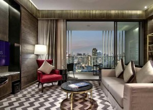 A suite at the new 137 Pillars Suites & Residences Bangkok