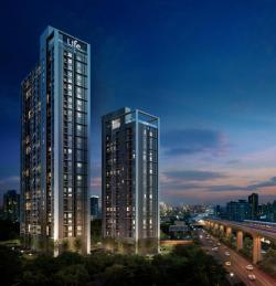 Life Sukhumvit 48, a condominium launched in early June by AP (Thailand), sold out during the launch period. The project has 612 units worth 2.26 billion baht.