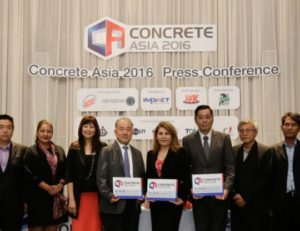 Concrete Asia Held in Thailand for the First Time
