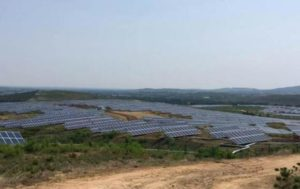 Banpu's Huineng solar farm project. The company has partnered with Techen Technologies (Thailand) to develop solar rooftop systems.