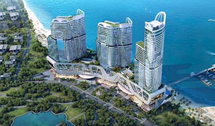 Massive Chinese resort breaks ground on Cambodia's Sihanoukville coast –  Thailand Construction and Engineering News