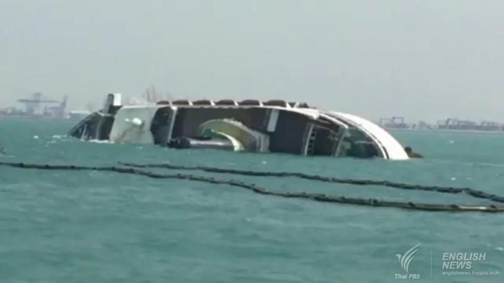 Chinese Cruise Ship Sinks Off Pattaya S Laem Chabang Port